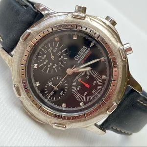 Vintage GUESS Water Pro Men's 41mm Chronograph